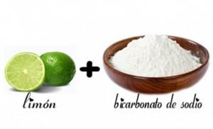 Limón y bicarbonato para bajar de peso