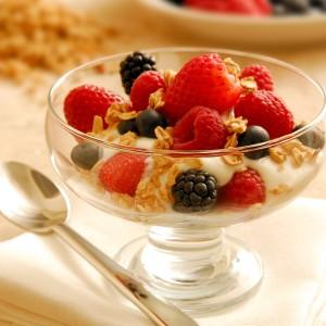 Desayunar saludablemente: ejemplo.