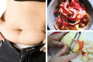 Cura-con-cáscara-de-manzanas-para-perder-peso