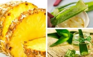 Descubre-cómo-perder-peso-con-el-aloe-vera-y-la-piña